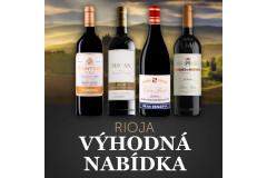 Výhodná nabídka Rioja - sleva 25%