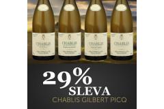 Sleva 29% na výjimečná Chablis od Gilbert Picq