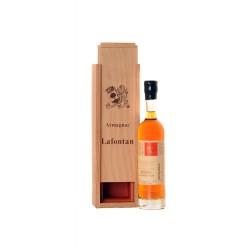 Armagnac 1987 v dřevěné krabičce 0,2l