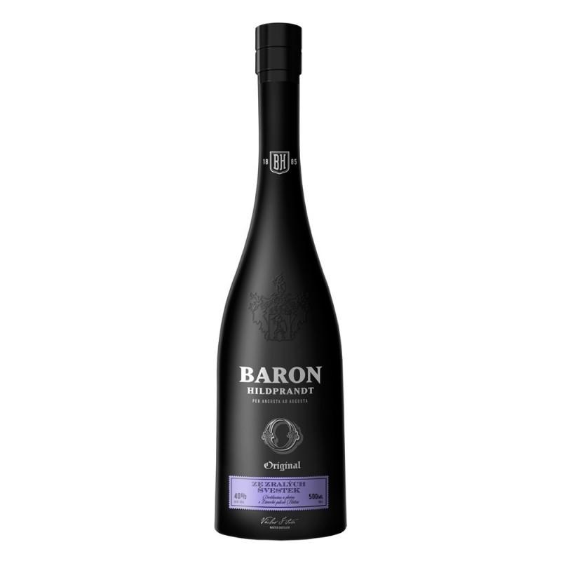 Baron Hildprandt   Ze zralých švestek 0,5l