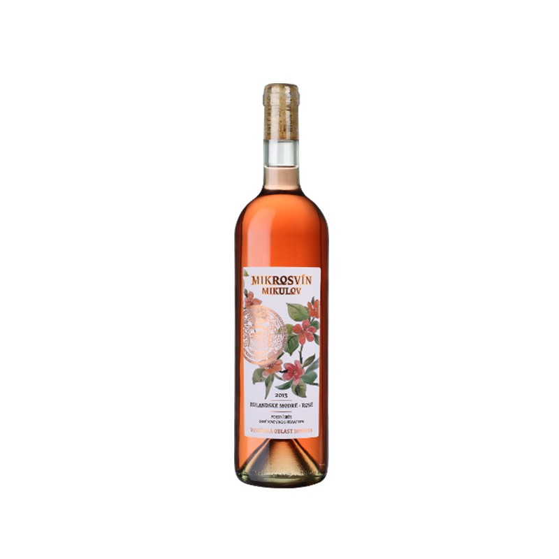 Mikrosvín Mikulov | Rulandské modré rosé Flower line 2017