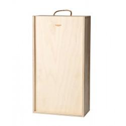 Dřevěná krabice s šoupacím...