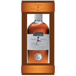 Papa Seal Rum single barrel 41,5%