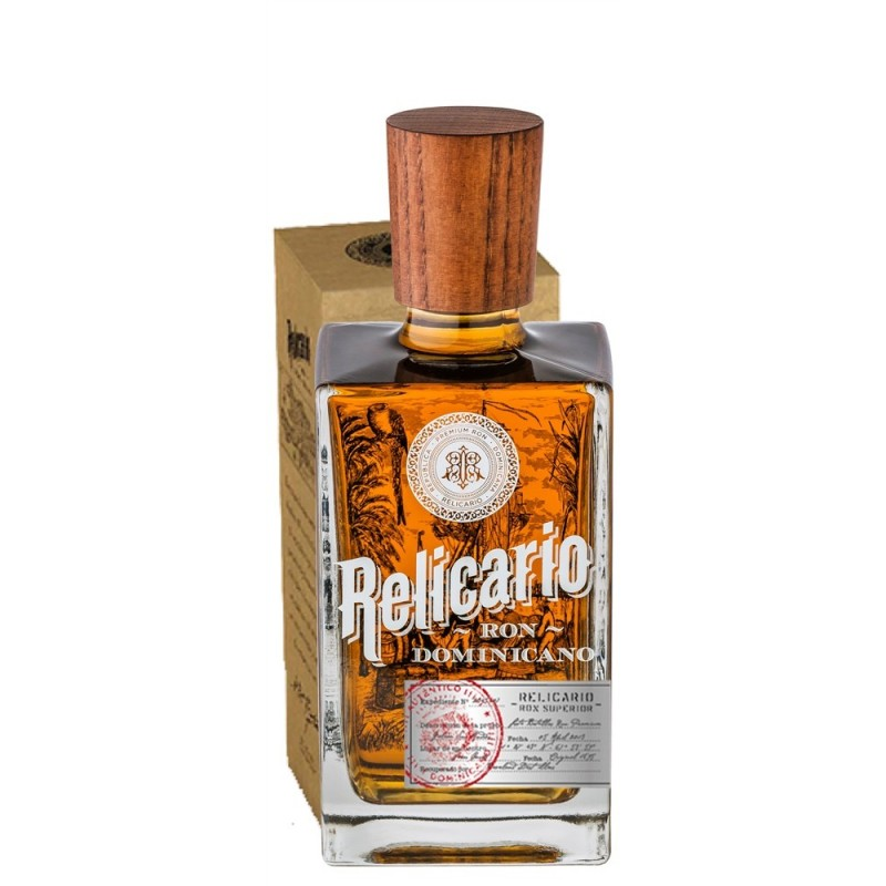 Ron Relicario   Rum v dárkové krabičce