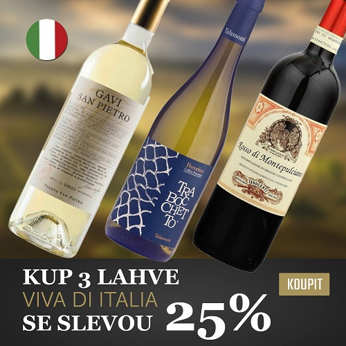Výhodný balíček Viva Italia